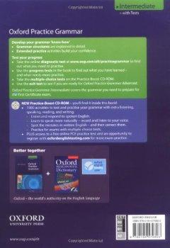 Livres Couvertures de Oxford Practice Grammar Intermediate 2008 with answers