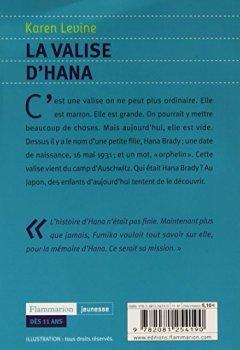 Livres Couvertures de La valise d'Hana
