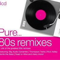 VA-Pure 80s Remixes-4CD-FLAC-2014-WREMiX