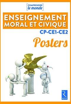 Livres Couvertures de Posters Enseignement moral et civique CP-CE1-CE2
