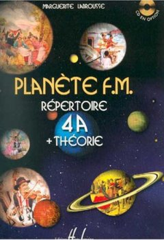 Livres Couvertures de Planète FM : 4A répertoire et theorie