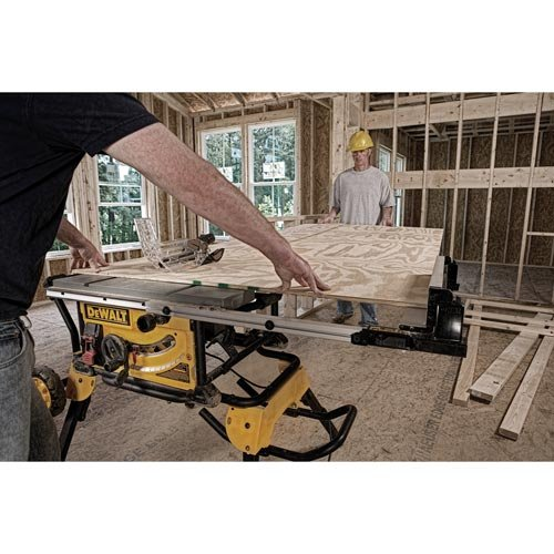 Generally, Portable Table Saws Do Not Have A Broad Enough Surface To Cut  Full Sheets Of Plywood, Sheet Metal, Etcu2026 A Full Sheet Would Have To Be Cut  Into A ...