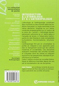 Livres Couvertures de Introduction à l'ethnologie et à l'anthropologie: Domaines et approches