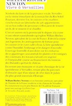 Livres Couvertures de Vivre à Versailles : Derrière la façade, la vie quotidienne au château
