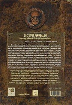 Livres Couvertures de Si c'était Jérusalem : Hommage à Raphaël Draï, et à Benjamin Gross
