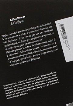 Livres Couvertures de La logique