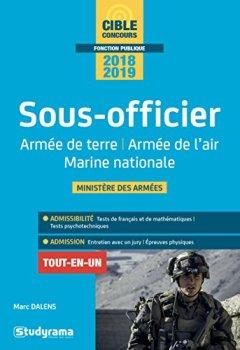 Livres Couvertures de Sous-officier : Armée de terre, armée de l'air, Marine nationale