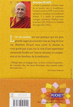 Livres Couvertures de L'art de la méditation