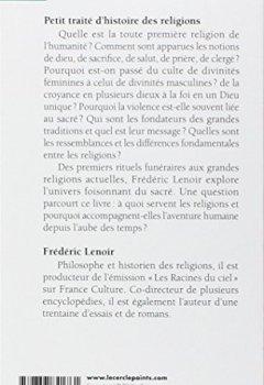 Livres Couvertures de Petit traité d'histoire des religions