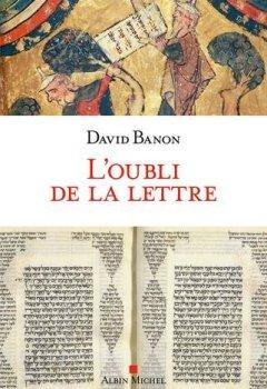 Livres Couvertures de L'oubli de la lettre