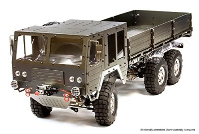 Integy-RC-Hobby-C25853GUN-Billet-Machined-6X6-7T-GL-High-Mobility-Off-Road-Truck-110-Size-ARTR