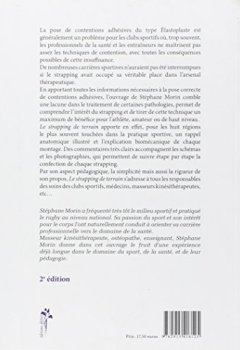 Livres Couvertures de Le strapping de terrain : Confection, pose de contentions adhésives pour toute discipline sportive