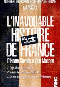 Livres Couvertures de L'Inavouable Histoire de France - La satire officielle