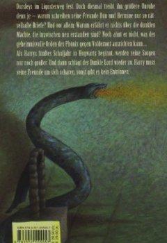 Buchdeckel von Harry Potter und der Orden des Phönix