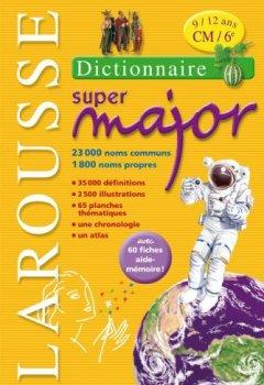 Livres Couvertures de Larousse Super Major 9/12 ans