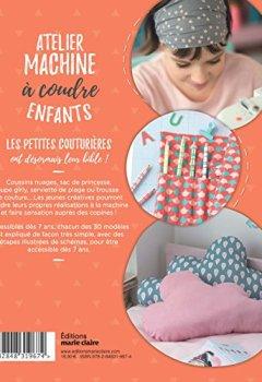 Livres Couvertures de Atelier machine à coudre enfants - Mes premières réalisations à partir de 7 ans