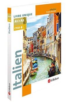 Livres Couvertures de Italien Collège A1-A2 Cycle 4 - 5e/4e/3e - Strada facendo - Manuel de l'élève