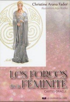 Livres Couvertures de Les forces de la féminité : Cartes oracle, avec 43 cartes