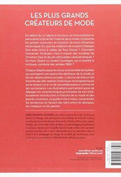 Livres Couvertures de Les plus grands créateurs de mode: De Coco Chanel à Jean-Paul Gaultier.