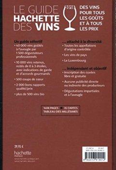 Livres Couvertures de Guide Hachette des vins 2018