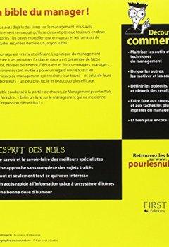 Livres Couvertures de Management pour les Nuls, 2ème édition (Le)