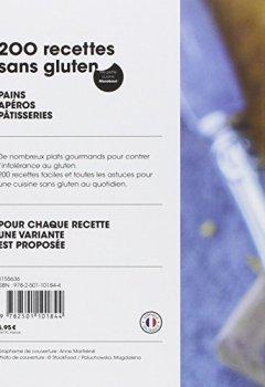 Livres Couvertures de 200 recettes sans gluten