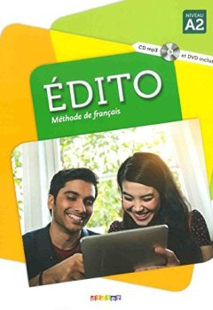 Livres Couvertures de Edito 2 niv.A2 - Livre + CD mp3 + DVD