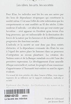 Livres Couvertures de La Société des individus