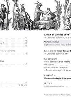 Livres Couvertures de Peau d'Âne: le conte de Perrault, le film de J. Demy, la réécriture de T. Ben Jelloun