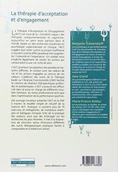 Livres Couvertures de La Thérapie d'Acceptation et d'Engagement - Guide Clinique