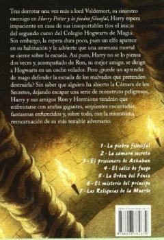 Abdeckungen Harry Potter y la cámara secreta (Letras de Bolsillo, Band 83)