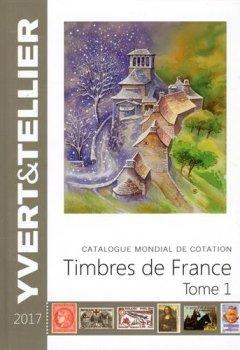 Livres Couvertures de Catalogue de timbres-poste : Tome 1, France