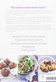 Livres Couvertures de Programme Fodmaps : vos intestins vous diront merci !