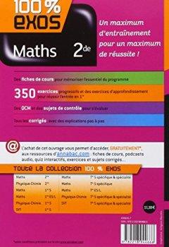 Livres Couvertures de Maths 2de: Exercices résolus - Seconde
