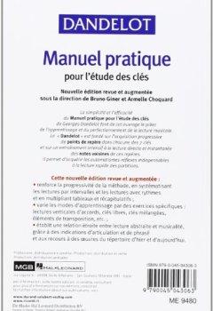 Livres Couvertures de Manuel pratique pour l'études des clés