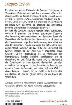 Livres Couvertures de Les Inconnus de Versailles