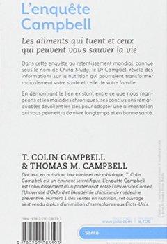 Livres Couvertures de L'enquête Campbell
