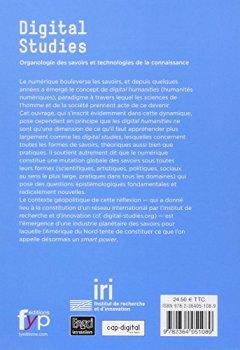Livres Couvertures de Digital studies : Organologie des savoirs et technologies de la connaissance