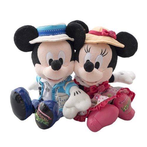 ディズニーシー2014 スプリング・ヴォヤッジ ミッキー&ミニーペアぬいぐるみ