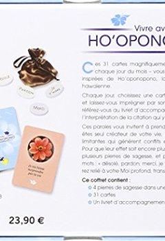 Livres Couvertures de Vivre avec Ho'oponopono, découvrez votre mission de vie : Avec 4 pierres de sagesse, 31 cartes et 1 livret