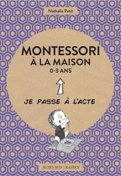 Livres Couvertures de Montessori à la maison 0-3 ans