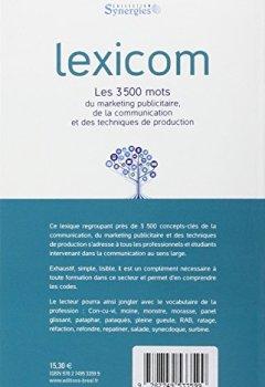 Livres Couvertures de Lexicom