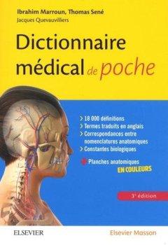 Livres Couvertures de Dictionnaire médical de poche: Avec des planches anatomiques en couleurs