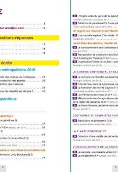 Livres Couvertures de Annales Annabac 2019 SVT Tle S: sujets et corrigés du bac Terminale S