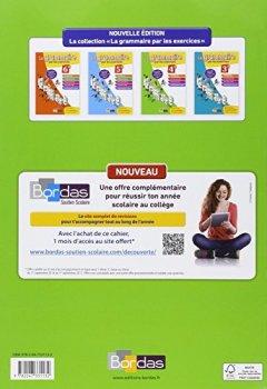Livres Couvertures de La grammaire par les exercices 4e • Cahier d'exercices éd.2014