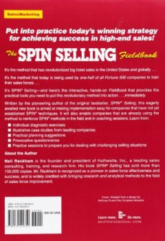 Livres Couvertures de The SPIN Selling Fieldbook: Practical Tools, Methods, Exercises and Resources