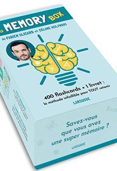 Livres Couvertures de La Memory box: 400 flashcards + 1 livret, la meilleure méthode pour tout retenir