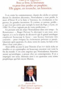 Livres Couvertures de Nostradamus, le mythe et la réalité
