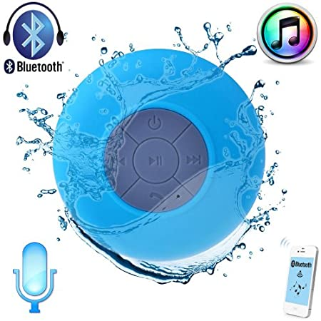 This is a Waterproof Wireless Bluetooth Speaker With Built-in Microphone. Support cell phones, PDA, MP3 players, PCs and laptops and any other electronic devices with Bluetooth. So you can enjoy music without the hassle of long cable, and can use thi...