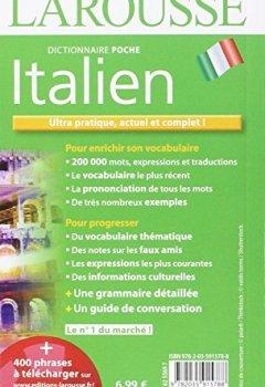 Livres Couvertures de Dictionnaire Larousse poche Italien